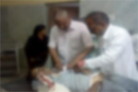 extreme crime in mp shot dead congress leader
