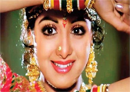 sridevi s film journey started at the age of 4 know how made superstar chandini