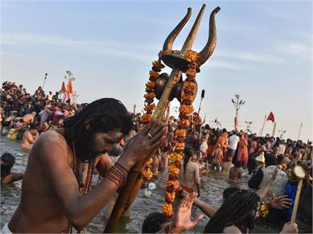 vigilance increased in kumbh mela