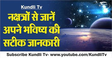 learn from the nakshatra accurate information about your future