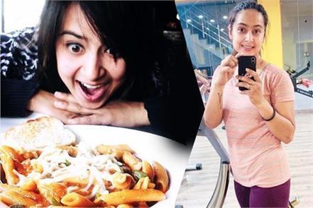 rishabh pant sister sakshi pant losses 19 pkg weight in just 7 month