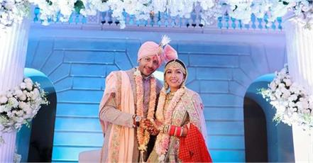 neeti nihaar finally share their wedding pics