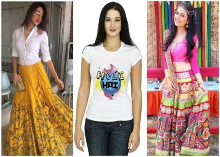 10 best draces for holi party