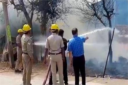 dreadful fire in slums prevented from being a major accident