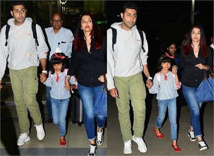 aishwarya rai spotted at airport