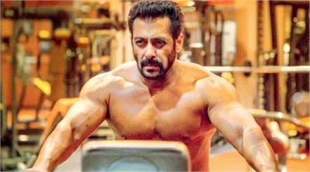 salman khan share his video in the gym