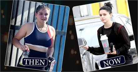 ariel winter spotted at gym