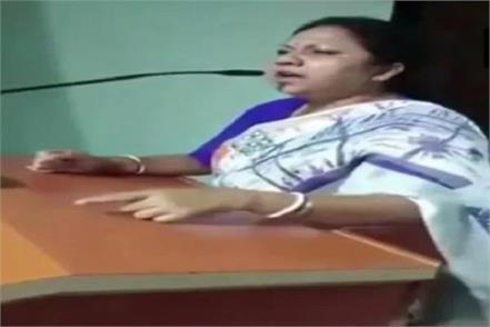 tmc mla controversy statement on security forces