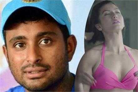 bollywood actress gauhar khan tweeted in support of ambati rayudu