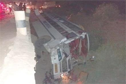 3 dozen passengers injured in the bus accident sidhi