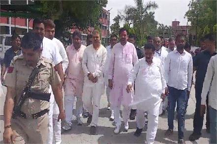 nayab saini reached kaithal to celebrate victory