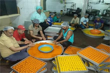 record book of laddus in ludhiana