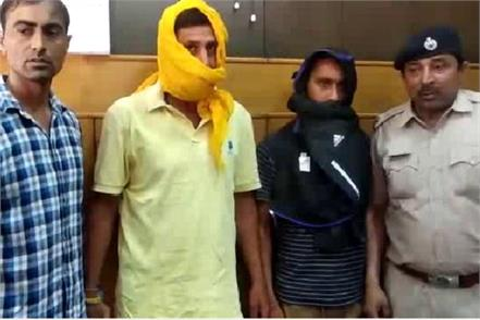most wanted criminal arrested from churu rajsthan living in underground room