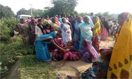 elderly farmer s brutal murder in mathura