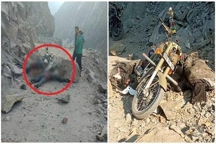 a painful accident with tourists going to kaza