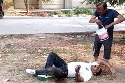 ayushman dpt doctor drunken omn yoga day video viral