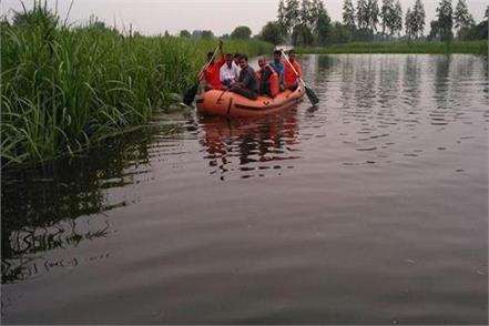 risk of flood in up