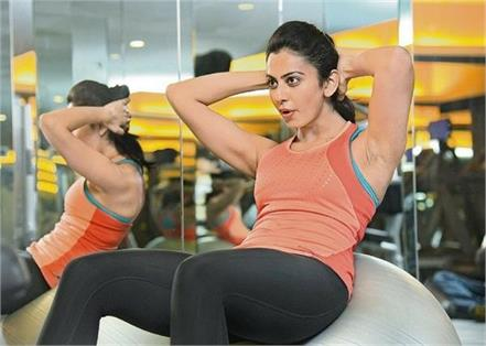 fitness secrets of bollywood actress rakul preet