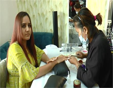 amritsar diamond nail art saloon