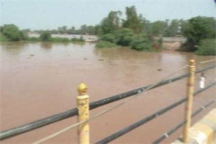 on the ghaggar river boom increased concern of farmers