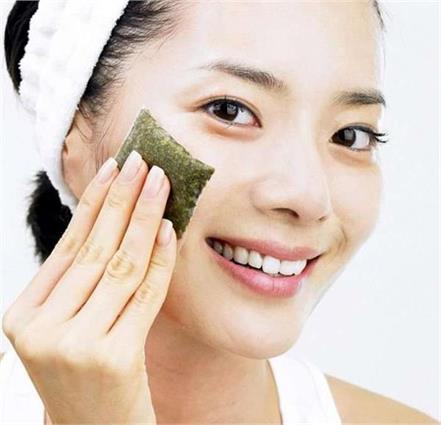 beauty benefits of green tea bag