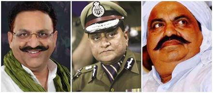 mukhtar ansari and atiq ahmed included in dgp s hit list