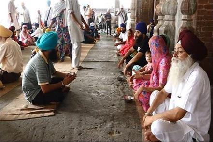 sangat coming to golden temple will now get sugar free tea