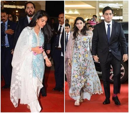 ambani daughters in lows attend reliance agm event in floral dress