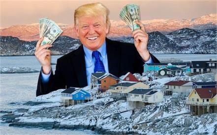 trump wants to buy greenland
