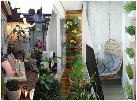 balcony decoration ides
