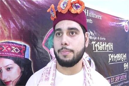 himachali folk singer rajat vij in new pahadi album