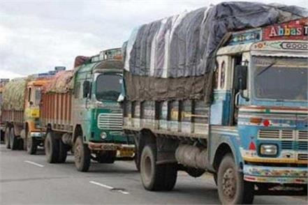 thousands of truck drivers on strike