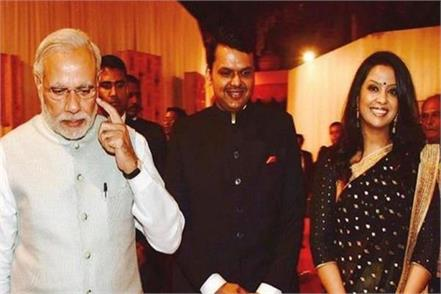 wife of fadnavis trolled in social media