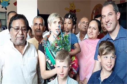 haryana little angel in belgian belgium couple adopt anjali
