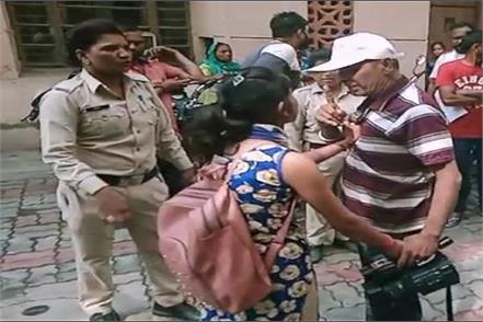 cameraman woman beaten video viral
