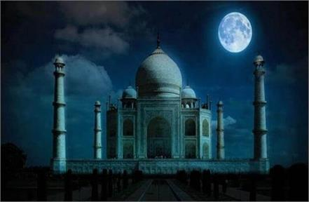 corona eclipse on sharad purnima tourists will not able to see taj mahal