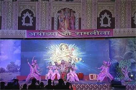 virtual ramlila launched in ayodhya film stars tie up