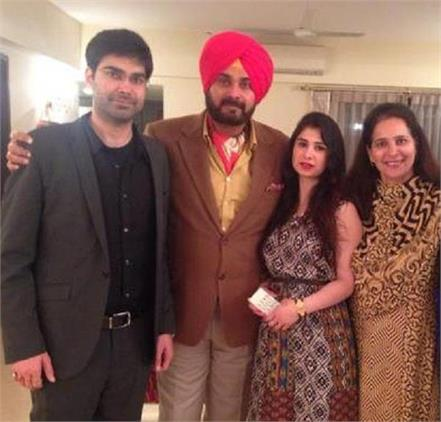 navjot sidhu s birthday see family album