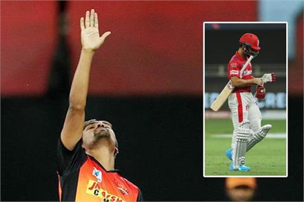 srh vs kxip  sandeep sharma completes 100 wickets in ipl