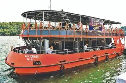 11 crore cruise will run on ganges waves varanasi to arrive soon from goa