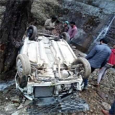 tragic accident car falls uncontrolled