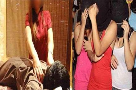 police raid massage centers 1 dozen foreign women in custody