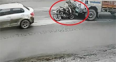 road accident in yamunanagar