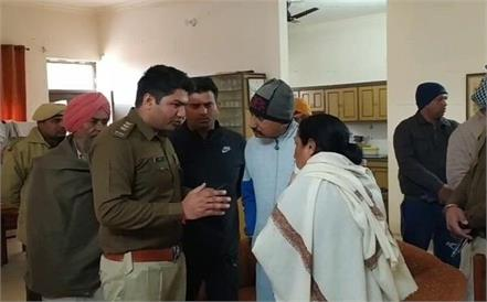looting of millions by holding mother son and maid hostage