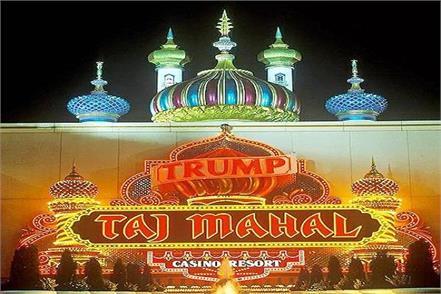 donald trump had also built his taj mahal
