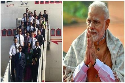 pm modi salutes mission wuhan team