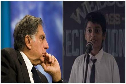 ratan tata shared this emotional video