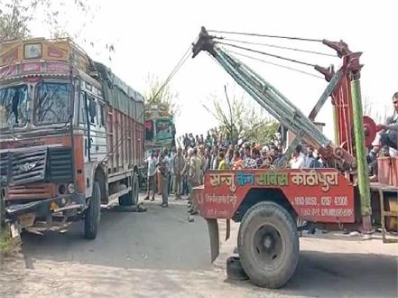 road accident in bilaspur