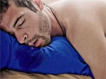 drooling mouth problem during sleep