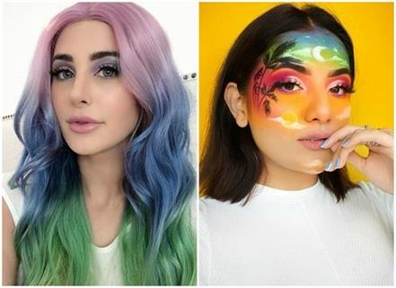 the trend of unicorn makeup started due to self quarantine
